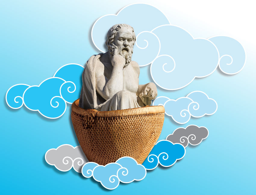 46. The Clouds, by Aristophanes (423 BC)