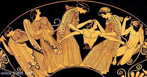 65. The Bacchae by Euripides (405 BC)