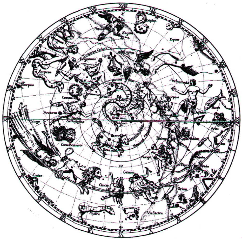 133. The Constellation Myths of Eratosthenes (c. 220 BC) and Hyginus (c.24 BC)