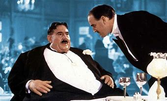 Mr Creosote and the wafer thin mint
